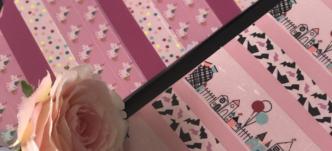 Decorando cuadernos con Washi Tapes II